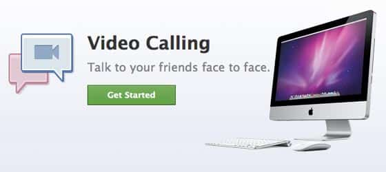Facebook Video Calling Built-in Apple iSight Webcam